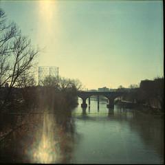 amare un luogo (bryenh) Tags: bridge rome roma film lomo lomography ponte diana dianaf gazometro gasometro analogic pellicola ostiense testaccio analogico rullino pontetestaccio
