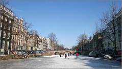 Amsterdam ijs op de grachten - Nederland  - 2012 - 191 (Bocaj47) Tags: winter amsterdam prinsengracht grachten ijs keijzersgracht