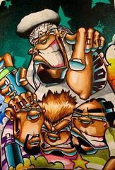 Mone. (Mone e Celo) Tags: street blue art luz azul graffiti sketch arte character hiphop rua vector ilustrao desenho mone personagem vetor graffite