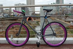 Leader TRK Fixed Gear with Boombotix BB2 Speaker (Boombotix) Tags: sanfrancisco speaker leader fixie fixedgear bluetooth roadbike minispeaker bikemusic travelspeaker bikespeaker