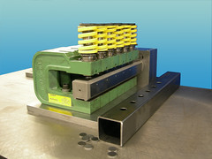 Multiple Hole Mandrel Tube Punching (UniPunch) Tags: die pipe punch tubing unipunch