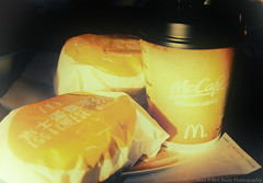 My Breakfast.., (Manarianz5) Tags: china vintage nikon asia retro software nik nikkor mcd tone vr afs mcdonald dx clour 2011 f3556 efex 18105mm d7000