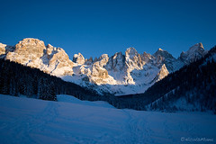 Sera in Val Venegia (Nik!) Tags: winter tramonto neve inverno dolomiti vezzana mulaz paledisanmartino cimondellapala valvenegia bureloni