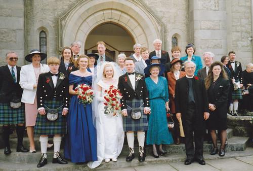 Lesley & Grant's Wedding, April 1993