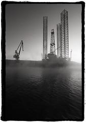 Industrial [explored] (Mediterraneo) Tags: sea bw digital croatia adriatic dalmatia 550d efs10223545 canon550d