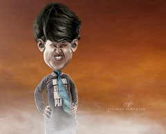 Smile for the picture (suliman almawash) Tags: art digital photoshop caricature kuwait  sulaiman      almawash