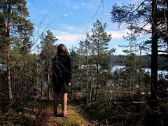 Walking in Nesoddtangen, Norway 12/03/2012 (DG Jones) Tags: oslo rural landscape island rustic von sunny lars silvia christiana pastoral scandinavia precipice trier larsvontrier westernnorway nesoddtangen norvige