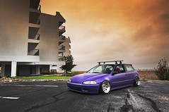 Hood Rat Status (Ronaldo.S) Tags: ocean city honda nikon purple jake h2o tokina civic looney f28 slammed camber ocmd d90 1116mm