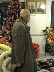 Febbraio 2012 - Incontro con Gillo Dorfles In laboratorio (Carla Tolomeo) Tags: arte scultura critico chiars gillodorfles carlatolomeo