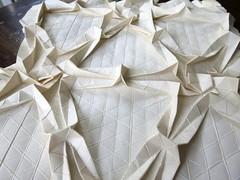 Moorish Stars, detail (EricGjerde) Tags: art paper origami tessellations paperfolding papiroflexia creasepattern origamitessellations ericgjerde moorishstars