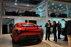 ASTON  Martin V12 Zagato (mb.560600.kuwait) Tags: show new car sport photo nikon kuwait aston v12 zagato d90 kartpostal worldcars