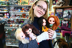 Me and 4 Kenner Blythes