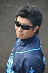 DSC_0857 (mechiko) Tags: 横浜ベイスターズ 120212 渡辺直人 横浜denaベイスターズ 2012春季キャンプ
