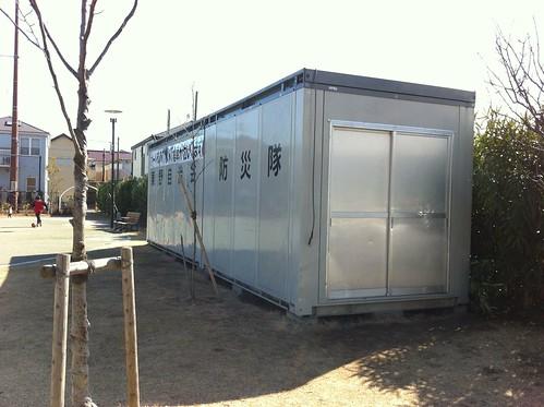 千葉県浦安市 東野自治会 防災倉庫