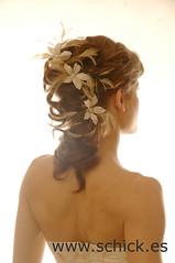 semirecogido_novia_19 (Grupo Schick) Tags: madrid de novia schick peinados semirrecogidos