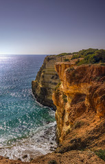 Praia da Abandeira,Carvoeiro (Lagoa) (_Rjc9666_) Tags: cliff seascape portugal landscape nikon coastline lagoa algarve 55 27 hdr carvoeiro 481 ilustrarportugal d5100 ruijorge9666