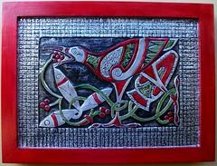 Ave Celta (Cacaio Tavares - Arte Relevo em Metal) Tags: art metal arte prata embossing boliviana repujado repousse latonagem metaloplastia