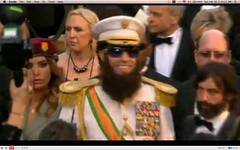 Oscar 2012 - Sacha Baron Cohen - The Dictator - pix 06