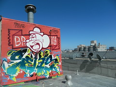 Frisco Rooftop feat. my broy ZEKW (RPES -PMBCREW-) Tags: sanfrancisco street paris fashion graffiti clothing bruxelles tshirt wear clothes toulouse tee broy broyclothing
