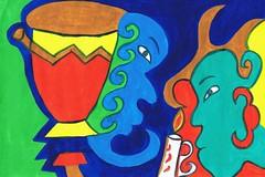PAP-DAV-05 (moralfibersco) Tags: art latinamerica painting haiti gallery child fineart culture scan collection countries artists caribbean emerging voodoo creole developingcountries developing portauprince internationaldevelopment ayiti