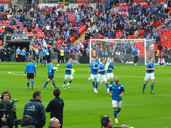 Cardiff warm up (Sarah Skelton) Tags: liverpool football soccer cardiff carlingcup 2012 wembley lfc liverpoolfc leaguecup carlingcupfinal tz7 leaguecupfinal panasonictz7