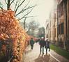 taking a stroll (In Memory Lane~) Tags: winter 35mm university dof bokeh mark ii oxford flare 5d 35l