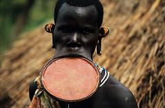 SURMA (BoazImages) Tags: portrait river southsudan border culture documentary tribal omovalley tradition ethiopia surma tradtional kibish boazimages