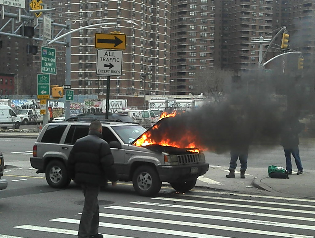 Car fire New York 2012 Shankbone 3 by david_shankbone, on Flickr