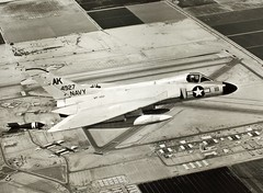 Douglas, F4D-1, Skyray (San Diego Air & Space Museum Archives) Tags: douglas dart delmar skyray nafelcentro f4d1