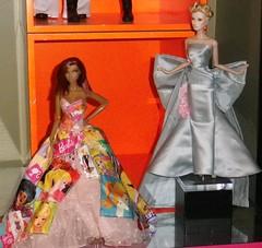 evening&ooak (tecno_79) Tags: barbie setup gowns colette ooakdoll