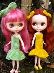 Prairie1 (ladynoir63) Tags: snowflake doll blythe prairie posie sonata