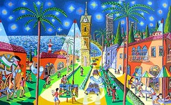 starry night on tel aviv telaviv after van gogh guch                 (naiveartist) Tags: art night israel telaviv artwork artist gallery tel aviv soho von  galerie exhibition galleries exhibitions artists stadt painter after rafael van naive gogh raphael der  starry painters israeli peretz   artworks ausstellung perez rafi kaufen malerei  sammler          ausstellungen   guch          kunstsammler