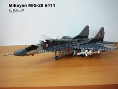 Mikoyan MiG-29- walk around part 1 (Julius D.) Tags: lego aircraft mig mikoyan mig29 fulcrum