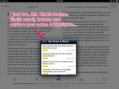 Kindle Notes Feature (catspyjamasnz) Tags: reading phd notetaking kindle