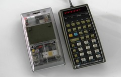 Hewlett Packard 67 - clear case (keith midson) Tags: hp prototype calculator 67 hewlettpackard clearcase hp67