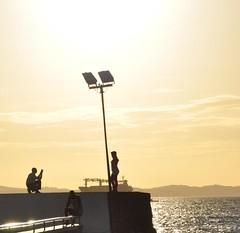 Ponta do Humait - Salvador, Brasil (carolborges) Tags: beach sundown salvador pontadohumait
