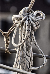 Rope (P3100618) (Mel Stephens) Tags: 2012 aberdeenshire scotland uk visions coast coastal harbour boat marine rope olympus gps geotagged 201203 spring stonehaven q1