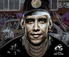 OBAMA. BACK 2 THE GHETTO (The PIX-JOCKEY (visual fantasist)) Tags: usa art photoshop painting washington joke president fake humour vip photomontage caricature hiphop rap draw murales ghetto obama fotomontaggi sprayer manipolazione robertorizzato pixjockey sfottomontaggi