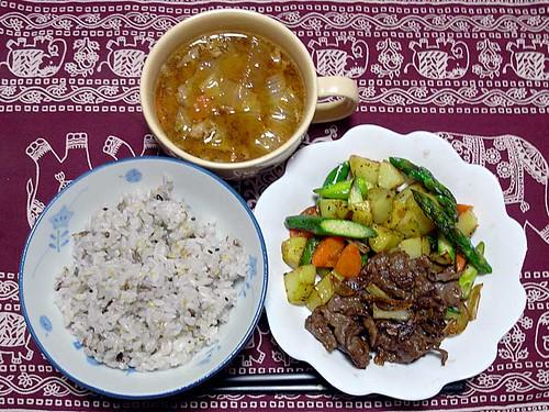 2012年3月12日の晩ご飯