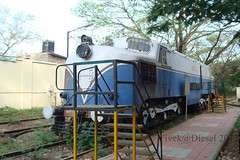 WCM-1 Loco (Vivek@Diesel) Tags: india museum rail steam icf alco wdm3 wcm1