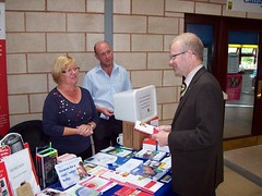 "Speaking with community activists in Barlanark • <a style=""font-size:0.8em;"" href=""http://www.flickr.com/photos/78019326@N08/6981882685/"" target=""_blank"">View on Flickr</a>"