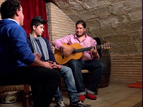 Performers @ Flamenco Night
