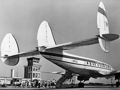 N4903C (www.kasvanzonneveld.com) Tags: tower airport aircraft aviation platform super passengers apron capitol groningen airways lockheed constellation eelde ehgg deplaning luchtvaart grq l1049g n4903c