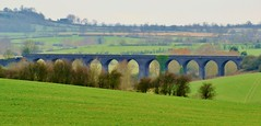 Catesby Viaduct (Paul (Barniegoog)) Tags: bridge landscape countryside arches viaduct