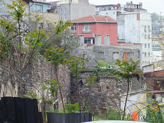 Galata surlar - Galata Fort (CyberMacs) Tags: wall turkey fort trkiye ruin places istanbul trkorszg galata constantinople frotress byzantium beyolu bysans cenevizsurlar galatasurlar othernames galatawalls surlarndanblm survivingsection galatafortress genowafortress istanbulwall valogatni