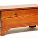 118. 19th Century Hand Dovetailed Blanket Chest