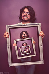 Week 17/52- Identity Crisis (EMIV) Tags: wall canon purple identity frame 5d 430ex 35l
