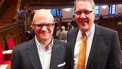 Patrick McGrann and Tim Hart-Andersen