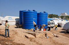 The water supply for 23,000 people (Documentally) Tags: news refugees aid syria hayat documentally