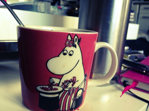 Morning tea with Moominmamma.
